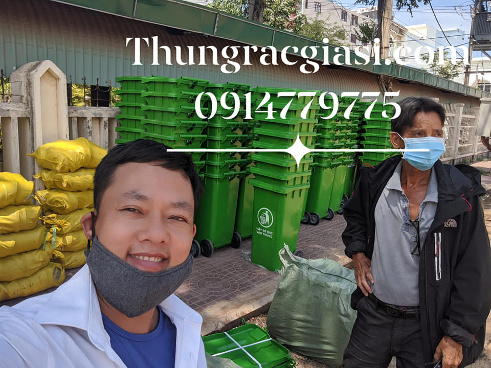 Thùng rác Gia Huy tại Bình Định