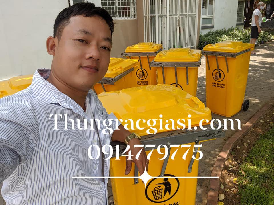 Thùng rác Gia Huy Tại Đà Nẵng