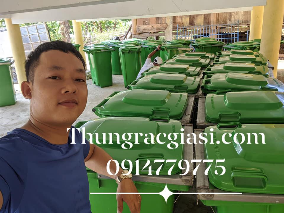Thùng rác Gia Huy tại Quảng Nam
