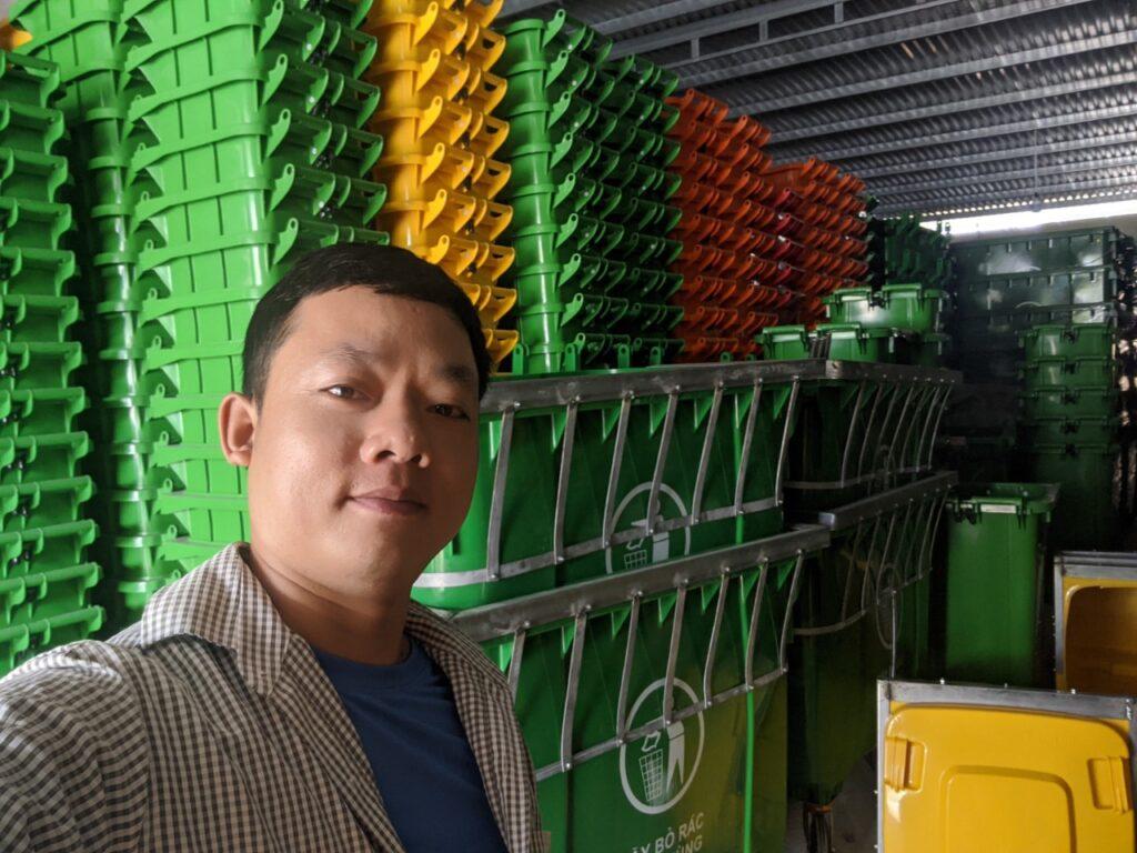 Tổng kho thùng rác Miền Trung tại Đà Nẵng