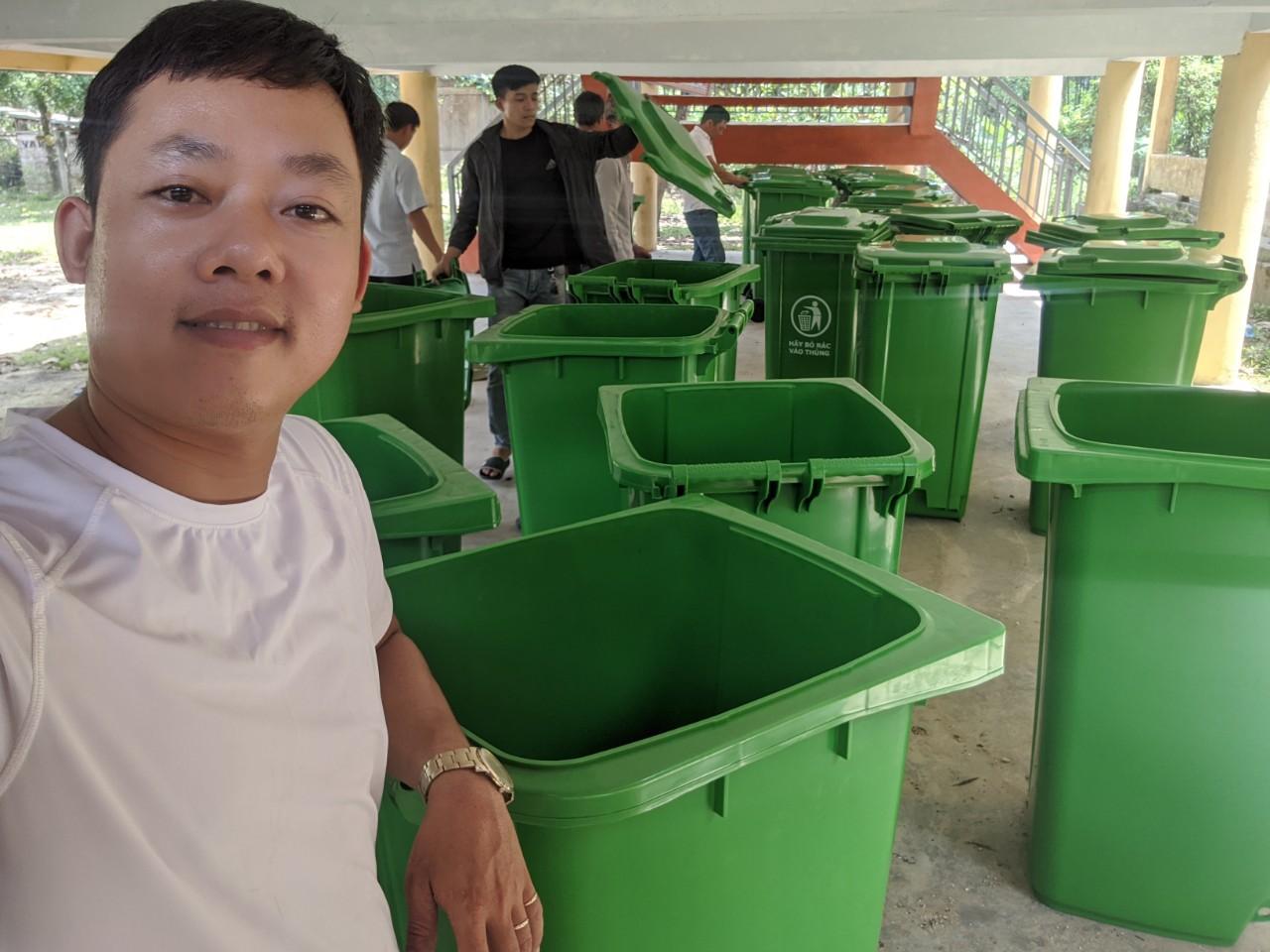 Tổng kho thùng rác tại Đà Nẵng