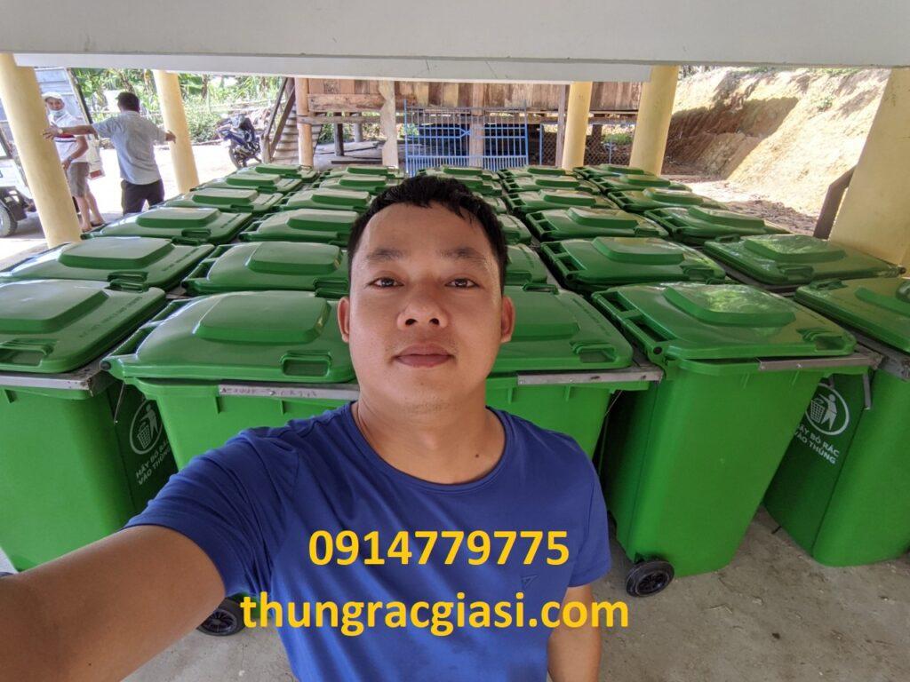 Thùng rác Gia Huy tại Thăng Bình